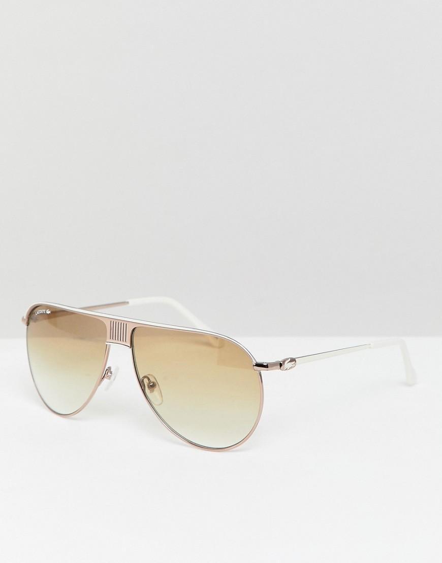 a00deb3c3c Gafas de sol estilo aviador L200S de Lacoste de hombre - Lyst