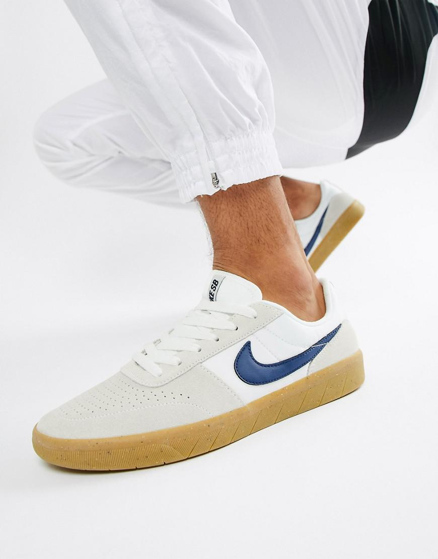 competitive price 8afc9 0d4c0 Nike Team Classic Sneakers In Beige Ah3360-100 in Natural fo