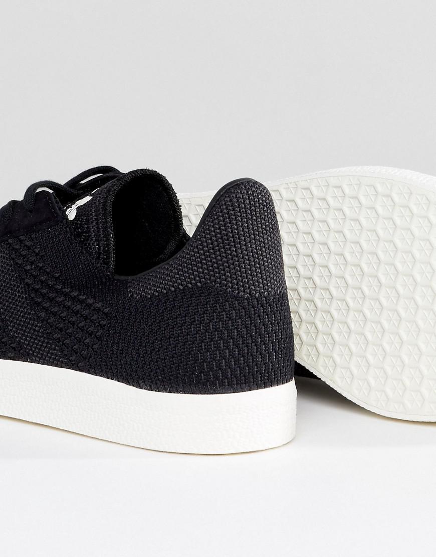 Primeknit Lyst adidas Originals Gazelle zapatillas en color negro bz0003