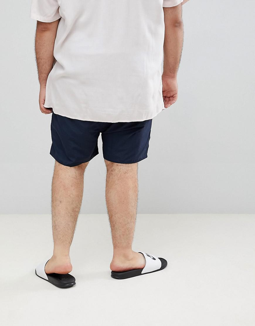 e95781cb79 French Connection Plus Swim Shorts in Blue for Men - Lyst