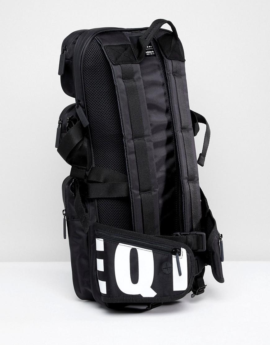 ... Lyst - Adidas Originals Eqt Backpack In Black Ce5550 in Blac the best  attitude 644e6 37f80 . ... 4e6fbfcad