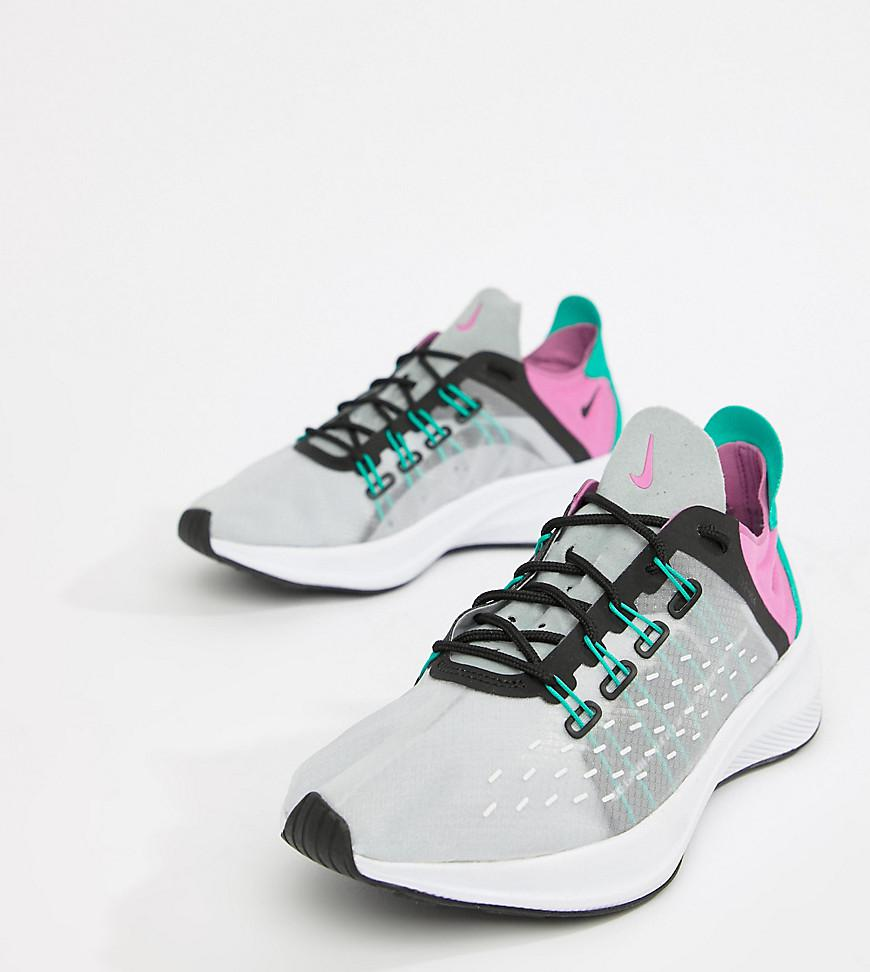 new concept bce1b caf4d Nike. Women s Gray Grey Multi Future Fast Racer Trainers