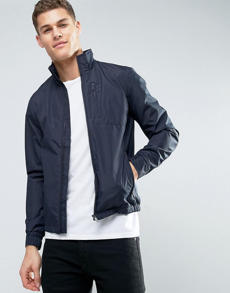 Jack & Jones. Men's Blue Premium Harrington Jacket