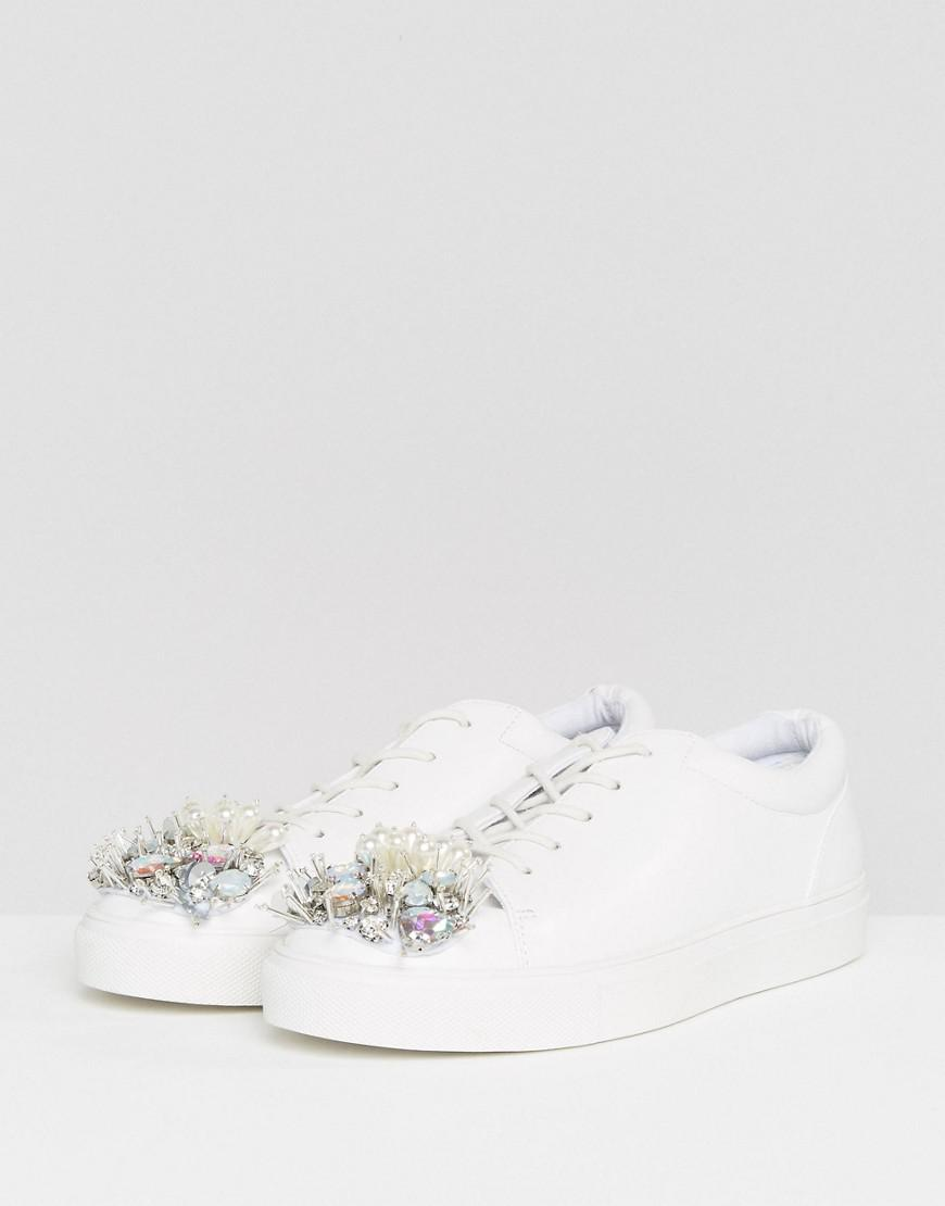 ASOS DREAM ON Embellished Sneakers