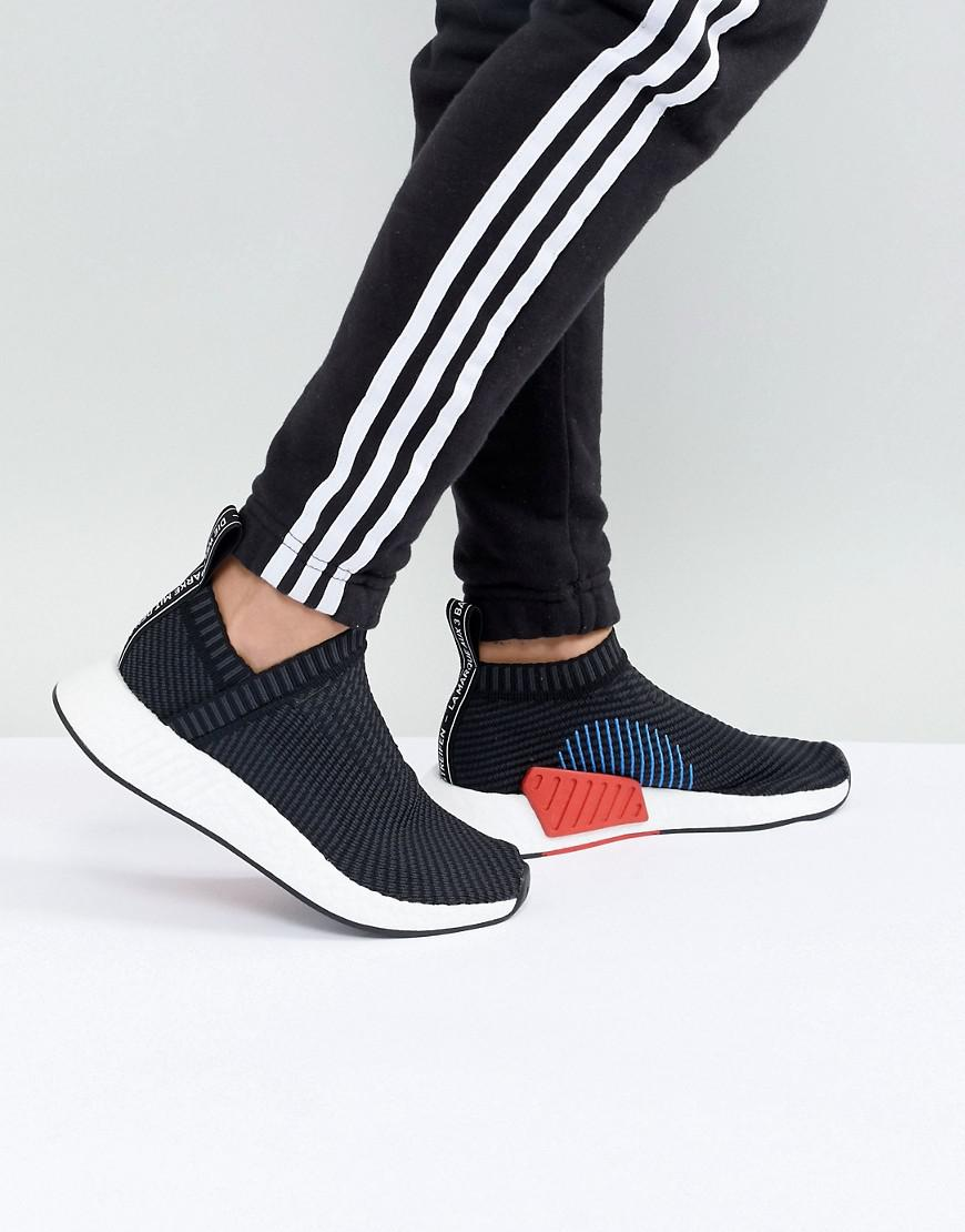 acf0650c2aed0 adidas Originals Nmd Cs2 Trainers In Black in Black - Lyst