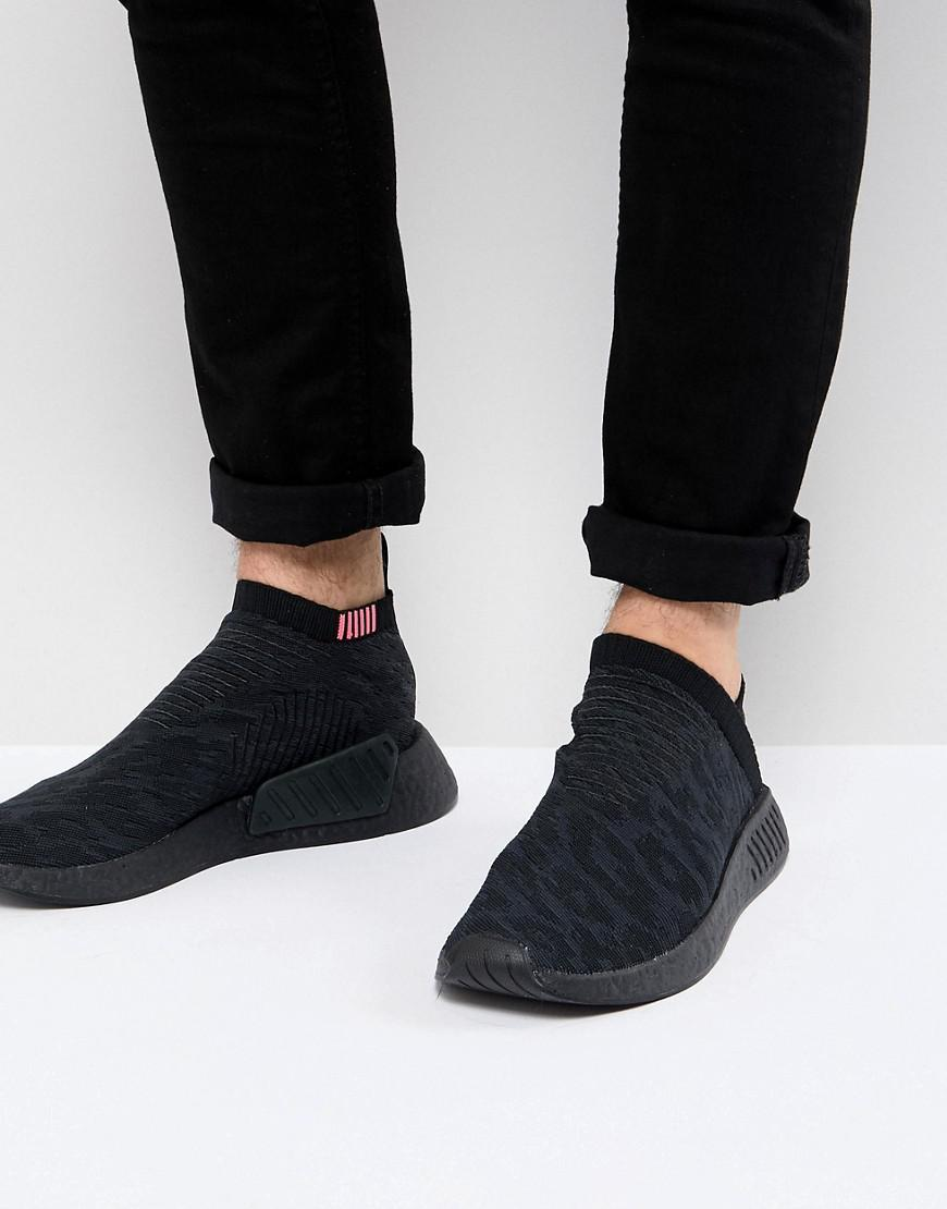 3d3bc6e47 adidas Originals Nmd Cs2 Primeknit Boost Trainers In Black Cq2373 in ...