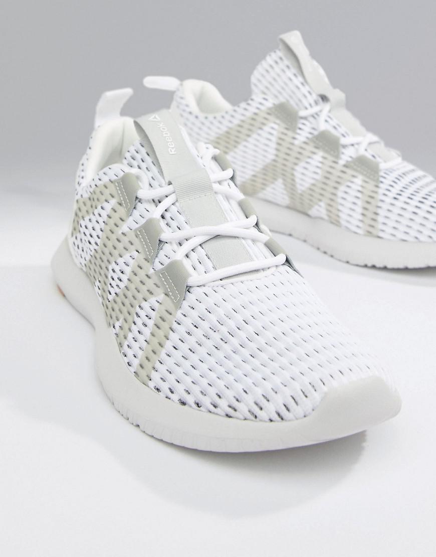 055baa502437 Reebok Training Reago Pulse Sneakers In White Cn7189 in White for ...