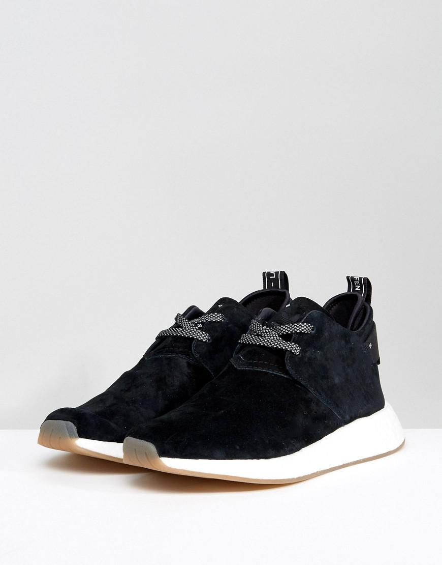 timeless design dc23c e2424 Lyst - adidas Originals Nmd C2 Sneakers In Black By3011 in B