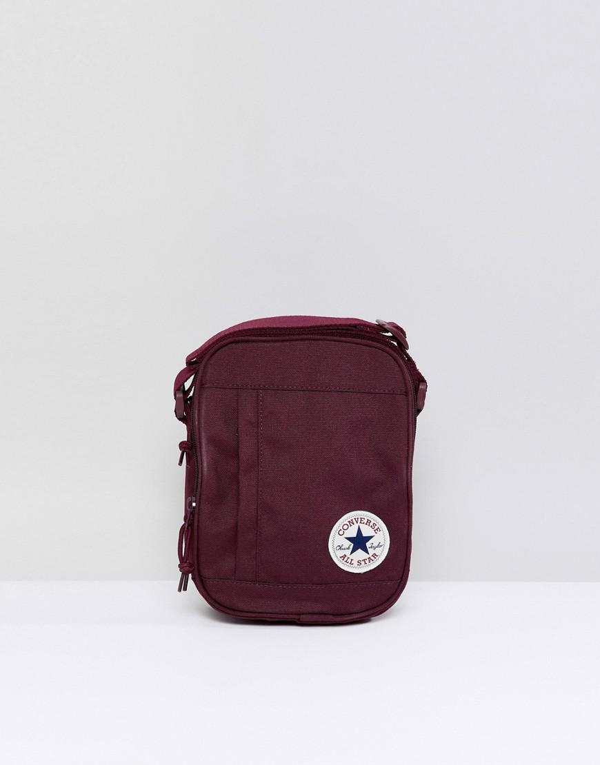 bb2eb98513 Converse Chuck Taylor Patch Crossbody Bag In Burgundy in Red for Men - Lyst