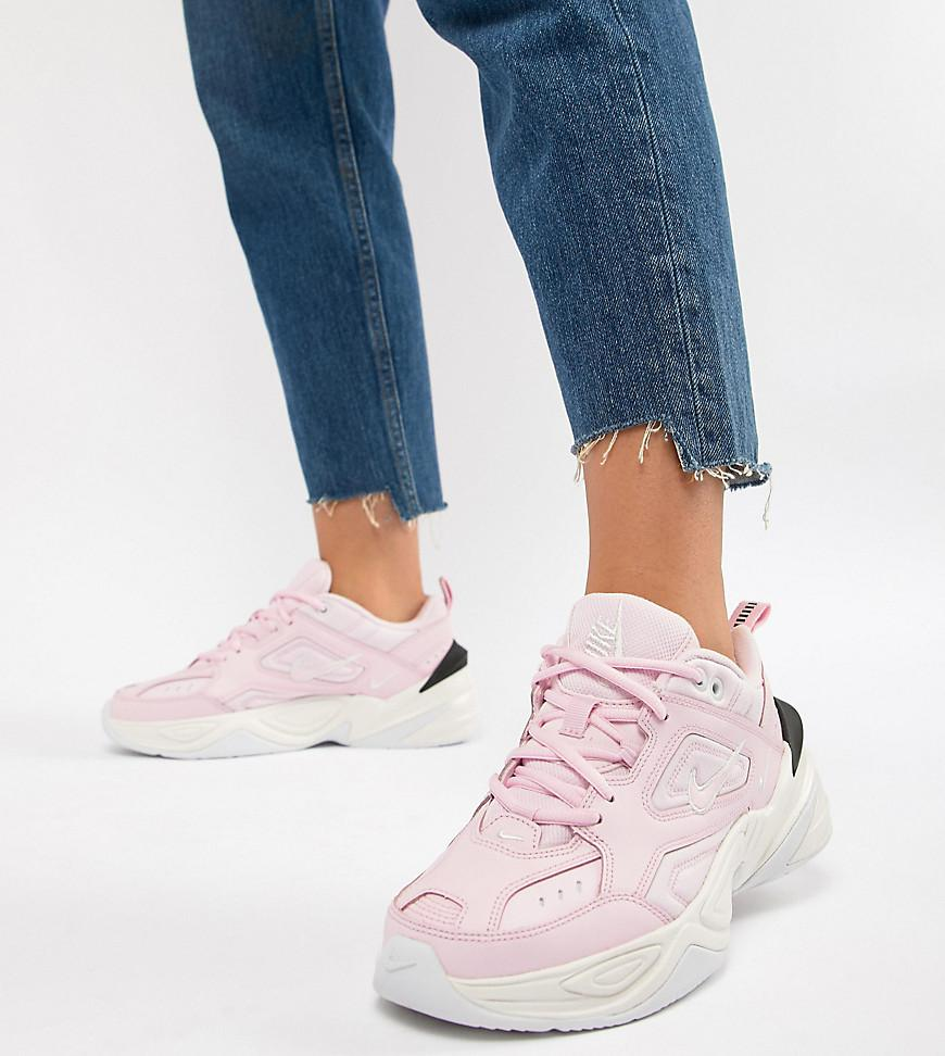 3099cec1da59d6 Nike Pink With Contrast Sole M2k Tekno Trainers in Pink - Lyst