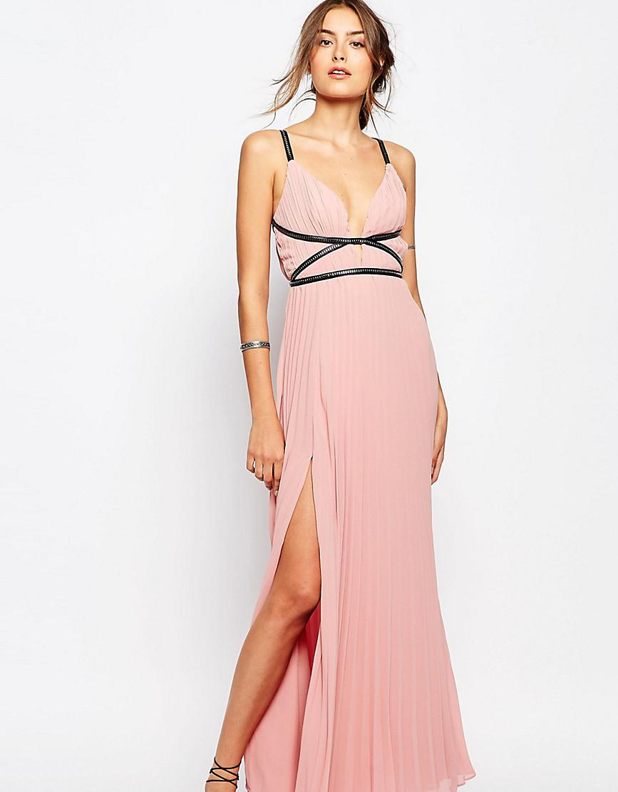 Pink Grecian Style Dresses