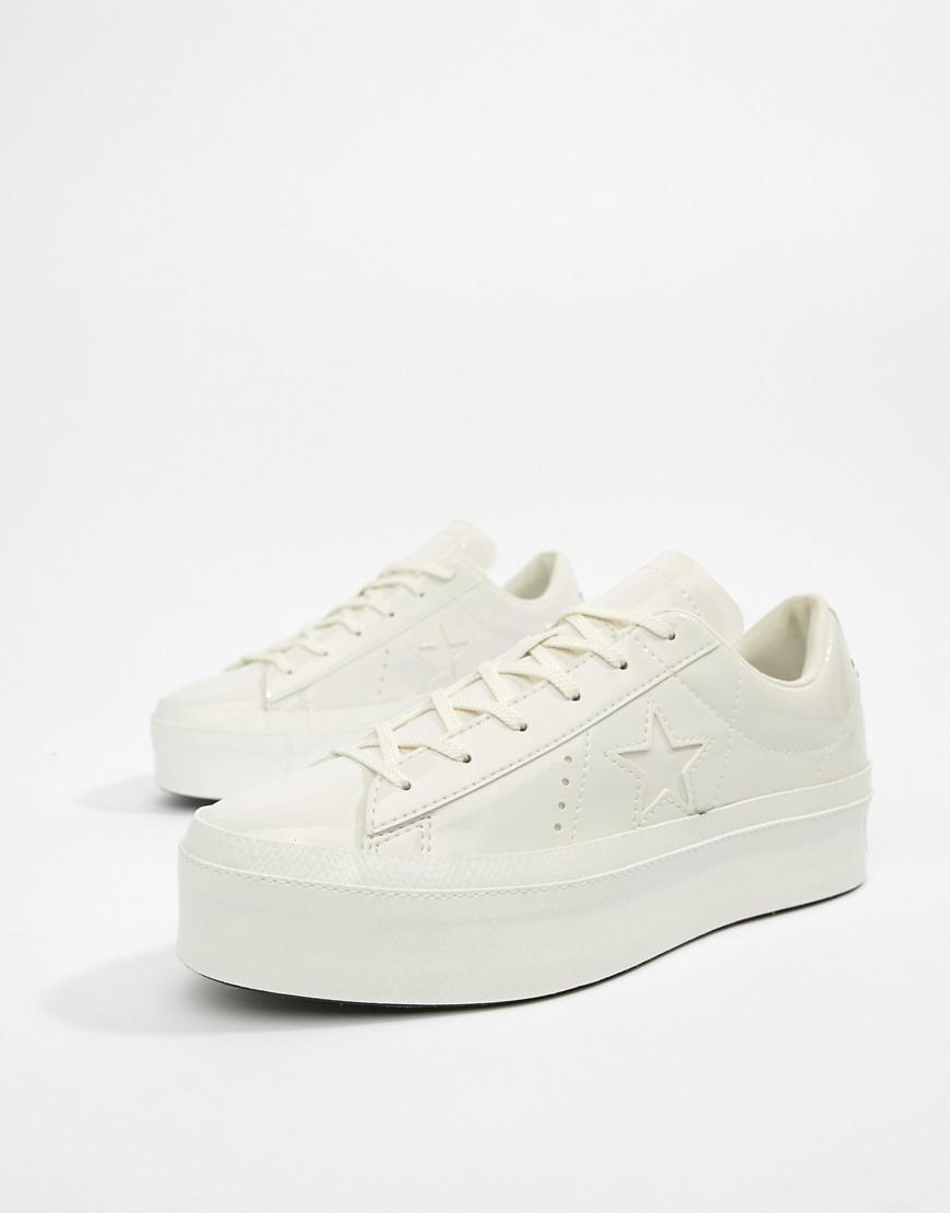 53d5522b3be White Vintage Star Platform Women's One Converse Sneakers Ox 4qYggn