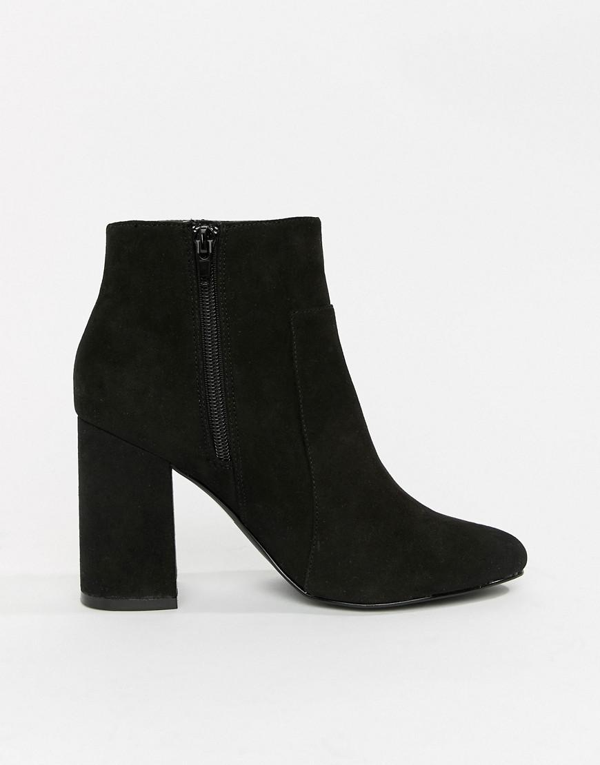 3118d8fbd0a3 Lyst - London Rebel High Ankle Boots in Black