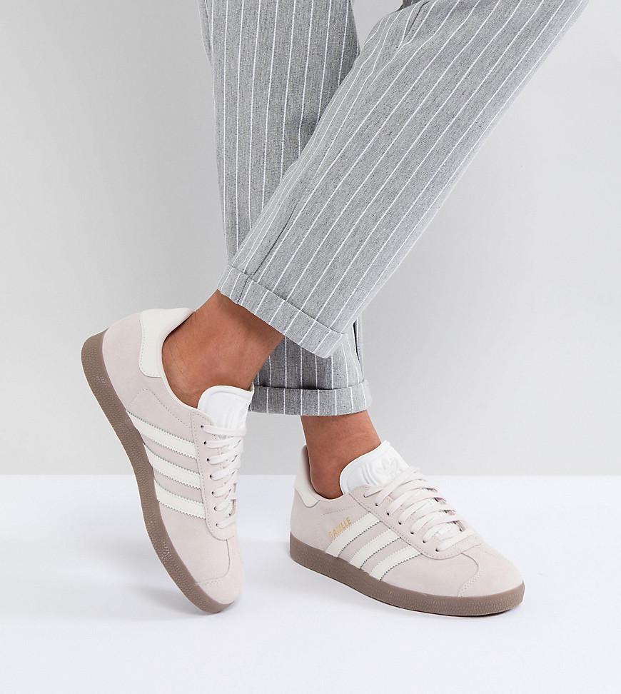 cd0c960abd8 Lyst - adidas Originals Originals Gazelle Sneakers In Lilac With ...