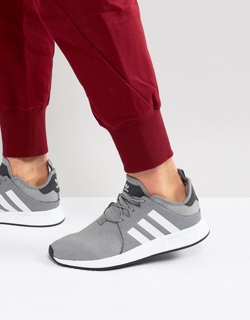 Adidas Originals gris x PLR formadores en gris cq2408 en gris Originals para hombres Lyst ce5eb2