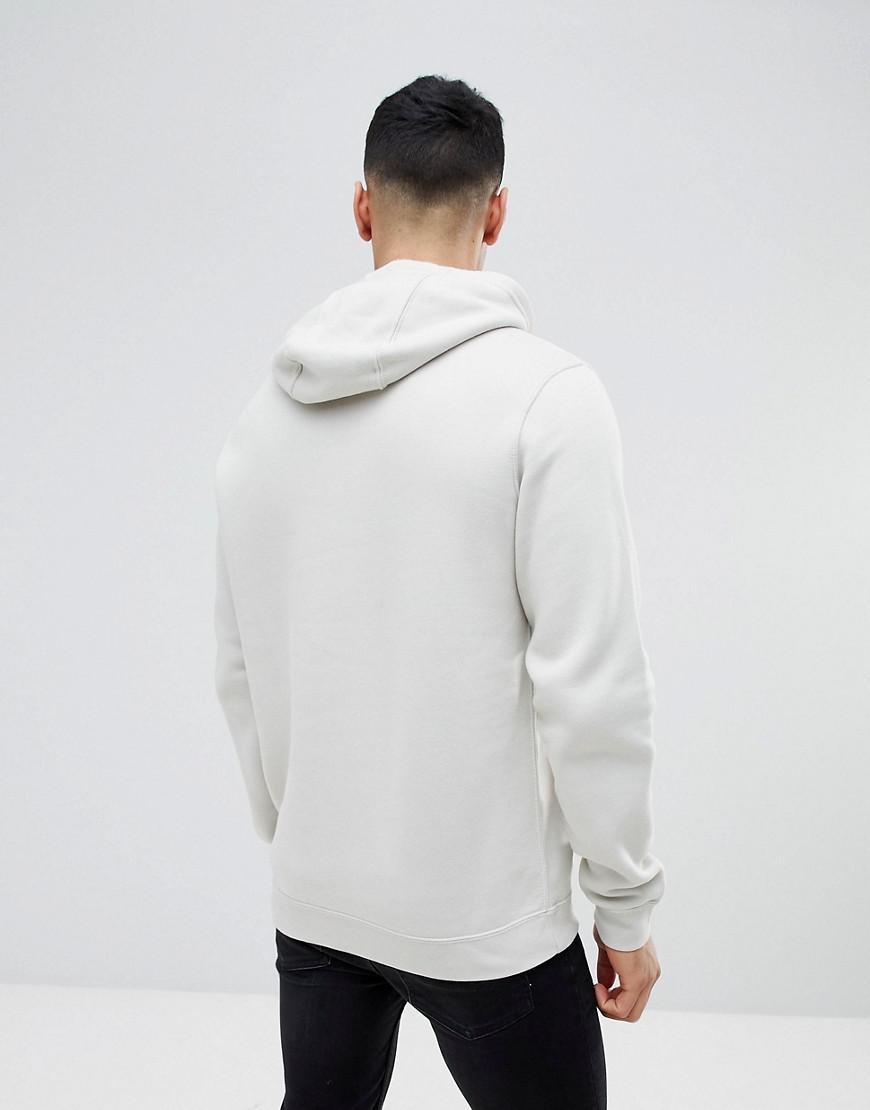 ea0eddf710 Nike Club Fleece Pullover Hoodie In Grey 804346-072 in Gray for Men ...