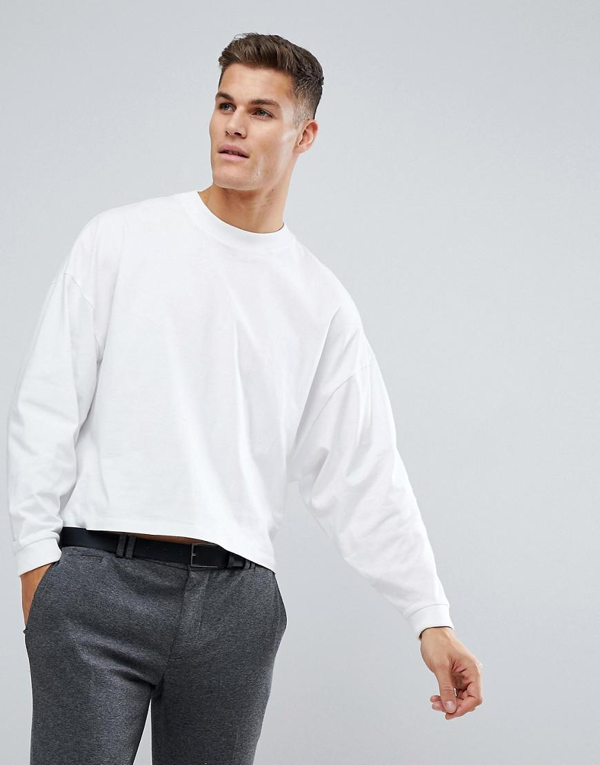 418544d1a39b91 ASOS Asos Oversized Long Sleeve T-shirt With Extreme Batwing In ...