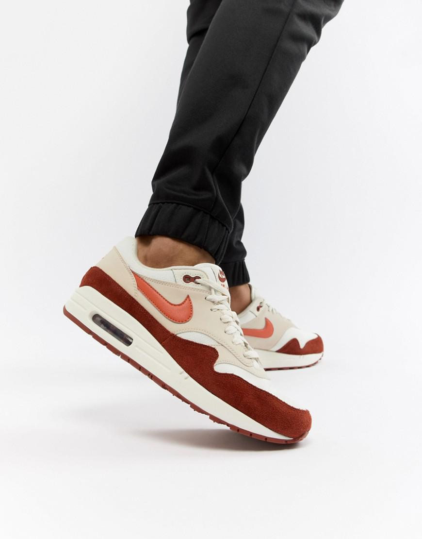 100% authentic 2e9dc 0c241 Nike Air Max 1 Trainers In White Ah8145-104 in White for Men - Lyst