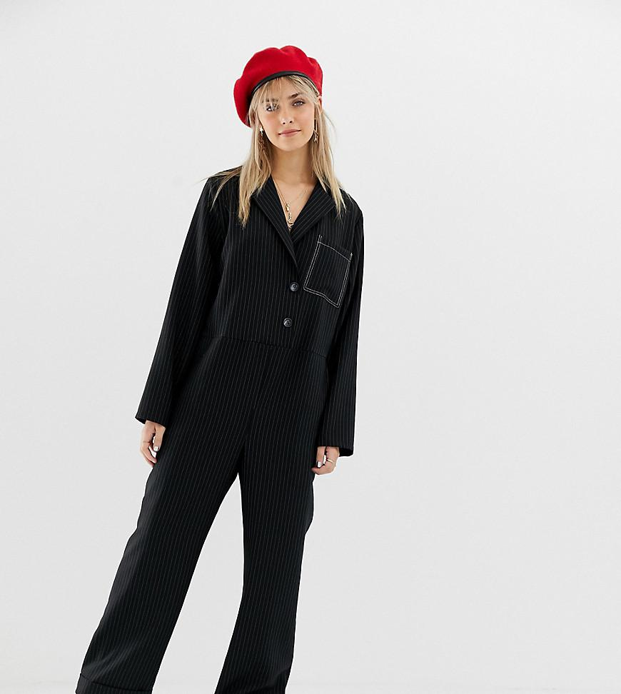 8f82cde9fb12 Lyst - Reclaimed (vintage) Inspired Boilersuit With Wrap Front In ...