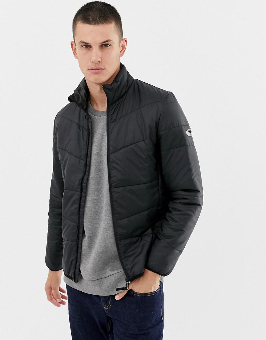 9cffa61b3d5d46 Only   Sons Quilted Jacket in Black for Men - Lyst