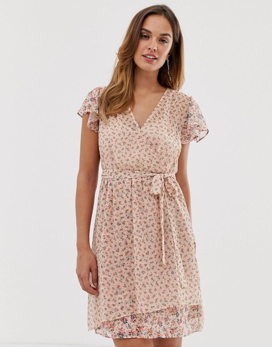 e2cbfbe9d40 French Connection. Women's Floral Wrap Dress