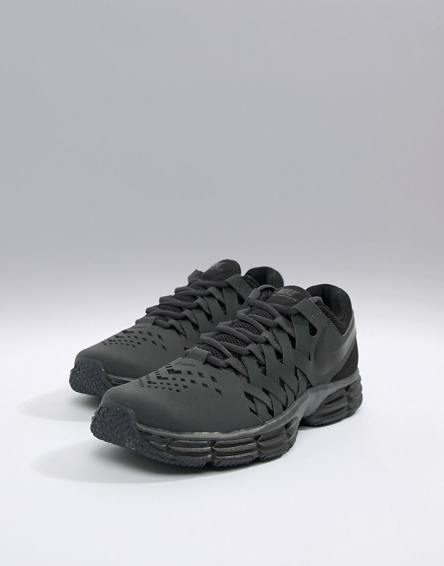 Nike Lunar Fingertrap Trainers In Black 898066-010 in Black for Men ... 2a3746e93