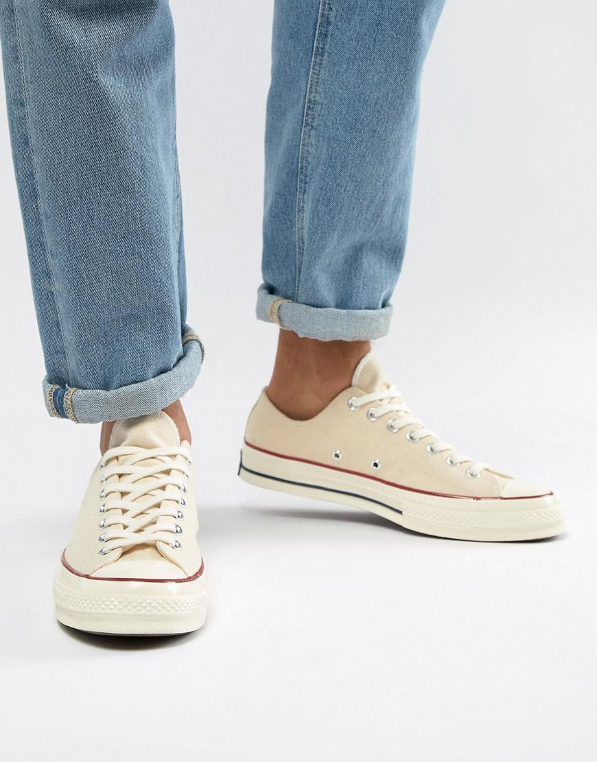 Converse Chuck Taylor All Star  70 Ox Sneakers In Parchment 162062c ... c99307b4f
