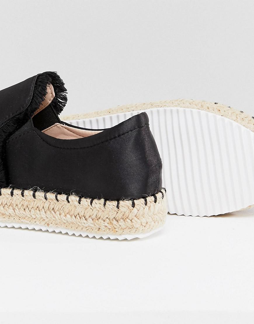 Lost Ink Peace & Love Flatform Espadrilles