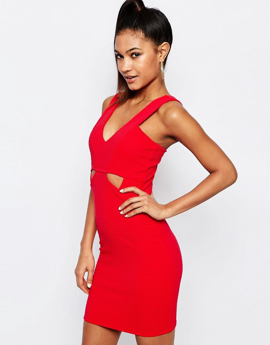 Lipsy London Ariana Grande for Ribbed Bodycon Cut Out Dress Pick A Best Cheap Price Cheap Sale Finishline Big Discount Online Outlet Cheapest Genuine DmFMh3O