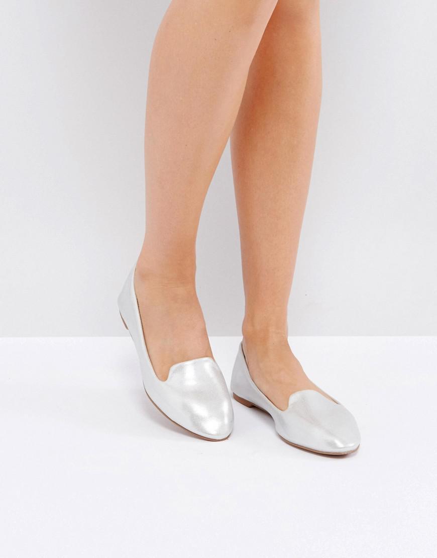 2531a3846ae1ee Lyst - London Rebel Grosgrain Slippers in Metallic