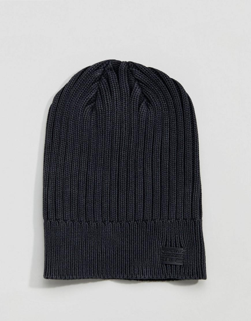 d57c908c5c3 Lyst - G-Star RAW Wyddo Beanie in Black for Men