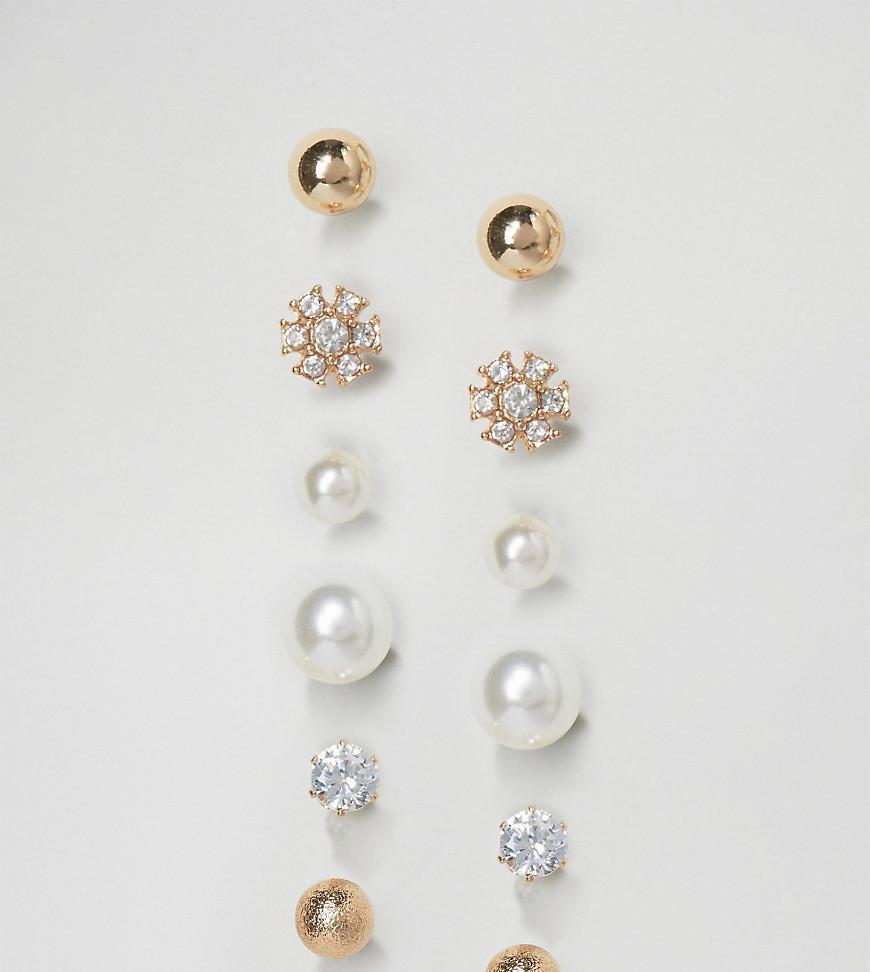 3cb059514 ALDO Asadodia Multipack Earrings in Metallic - Lyst