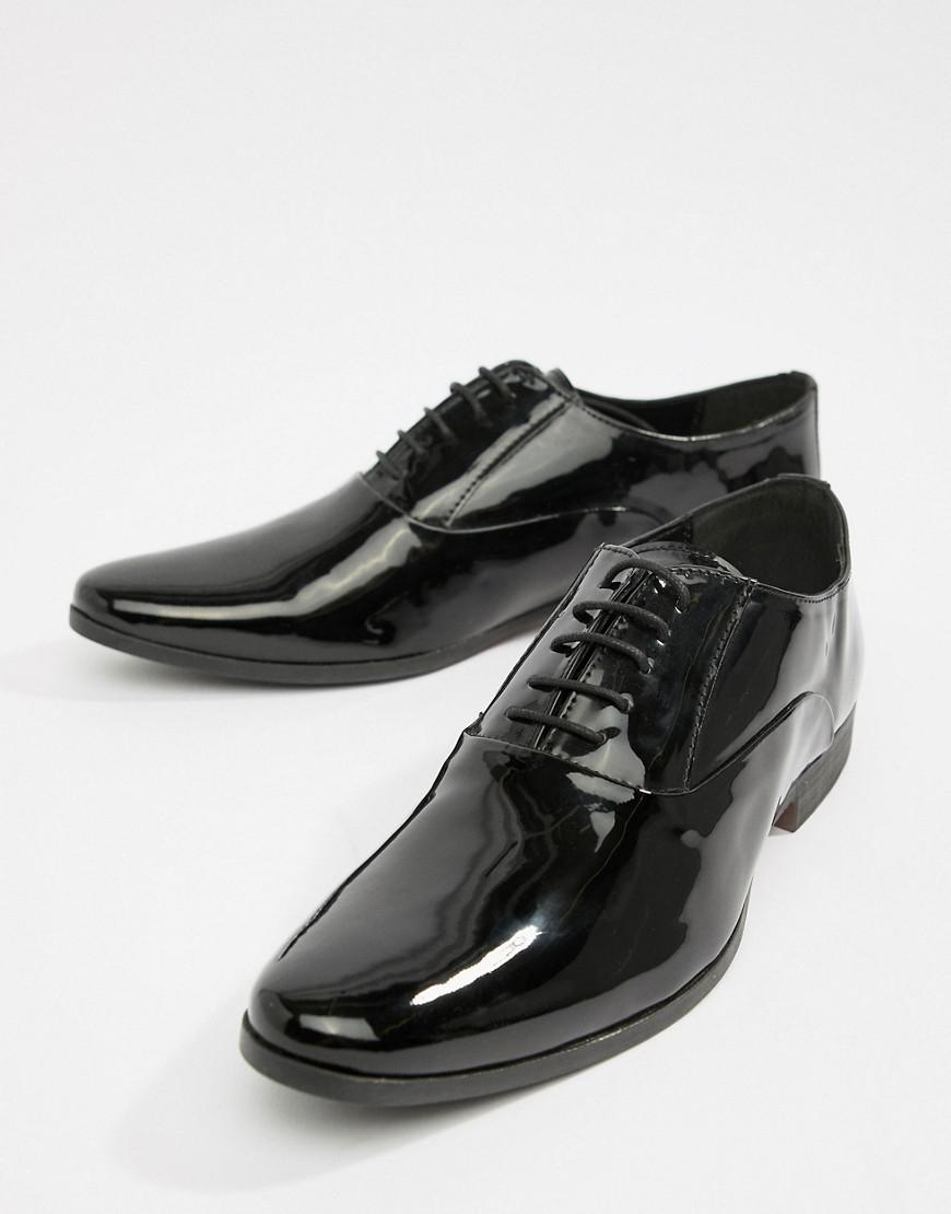 88d681b4cffc KG by Kurt Geiger. Men s Black Kg By Kurt Geiger Patent Oxford Lace Up Shoes