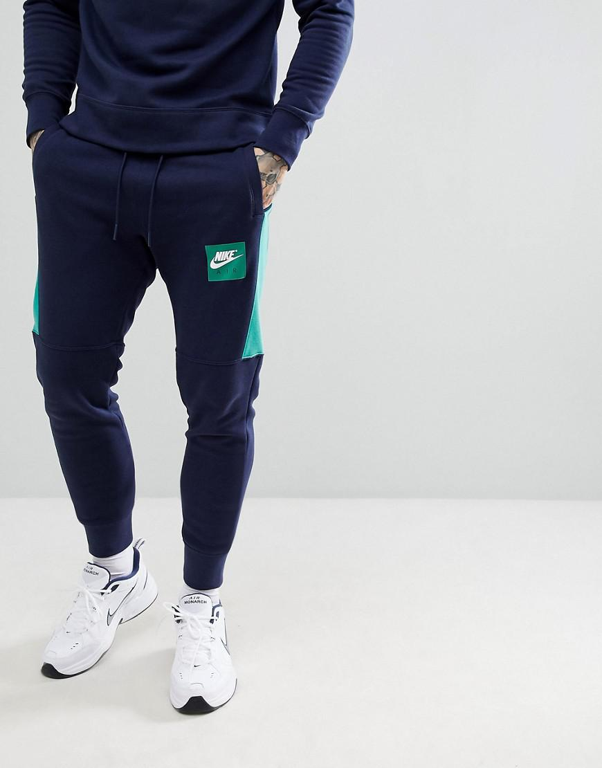 550d62be949 Nike Air Joggers In Navy 886048-453 in Blue for Men - Lyst
