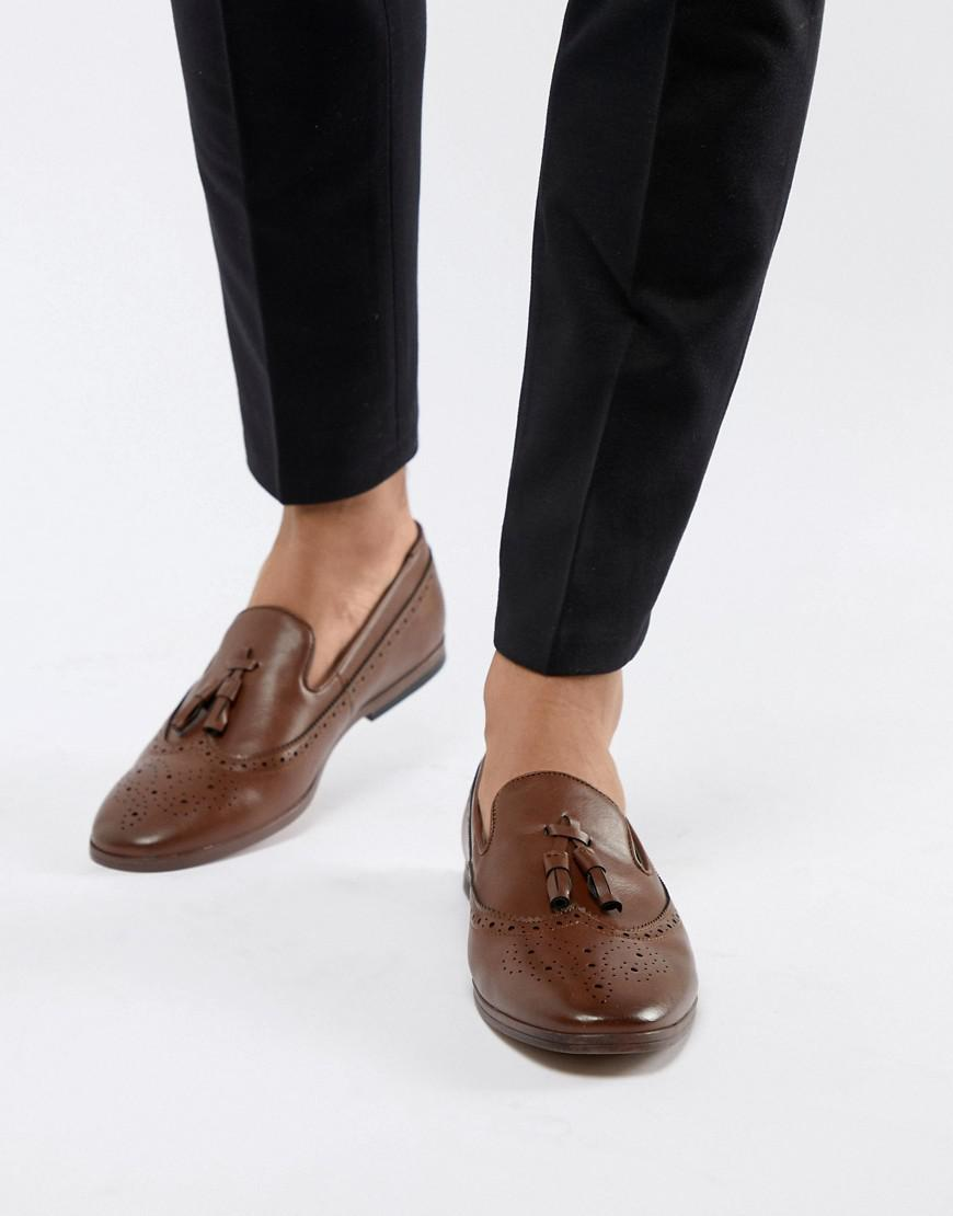 New Look Faux Leather Loafers With Embossed Detail In ycontiu