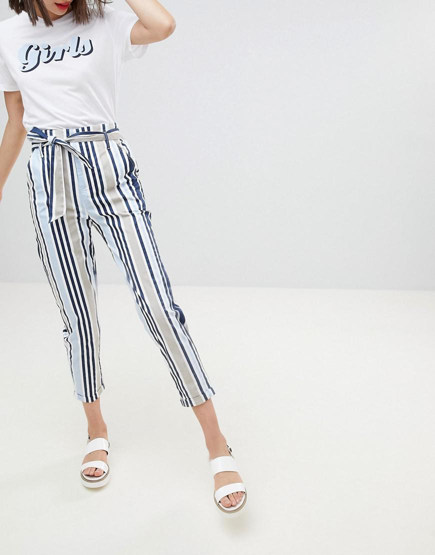 Stradivarius Stripe Print Trouser Outlet Authentic Cheap Price Free Shipping Clearance Release Dates For Nice For Sale 1dtkddlG