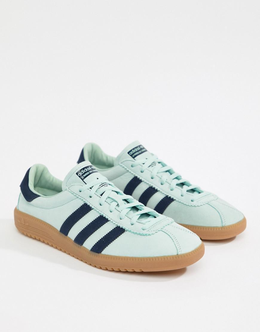 dd3d98a7793a4e Lyst - adidas Originals Bermuda Sneakers In Green Cq2783 in Green for Men