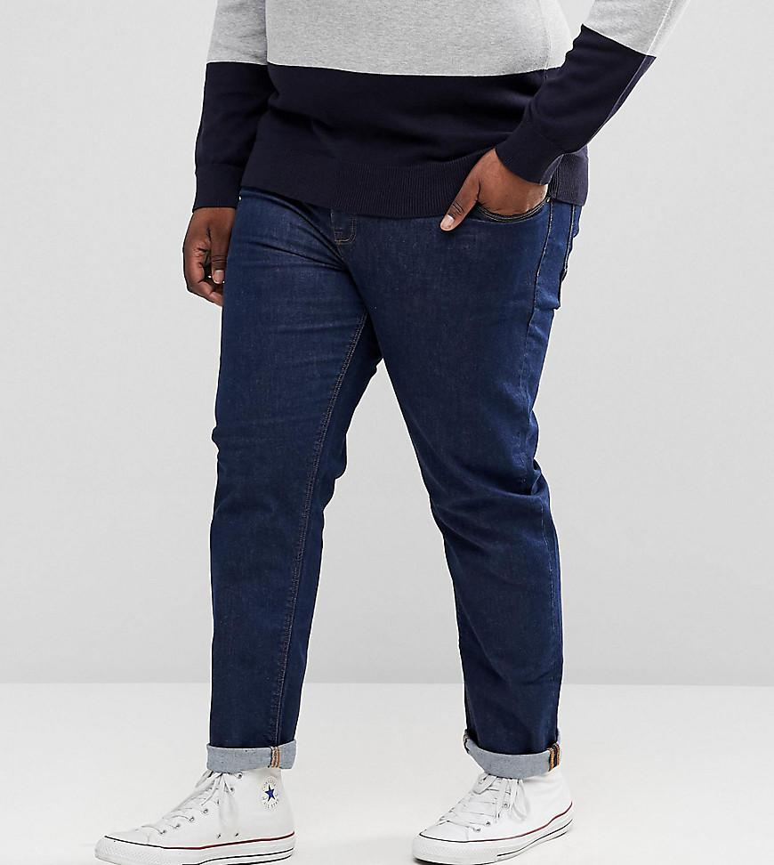Pick A Best Cheap Sale Latest Collections PLUS Stretch Slim Jeans In Dark Wash Blue - Dark wash blue Asos 4AdFOVeE