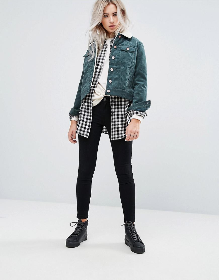Asos petite jeans jacke