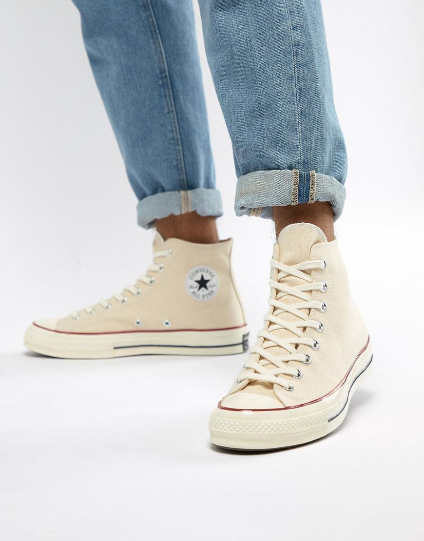 e852e9907d9 Lyst - Converse Chuck Taylor All Star  70 Hi Trainers In Parchment ...