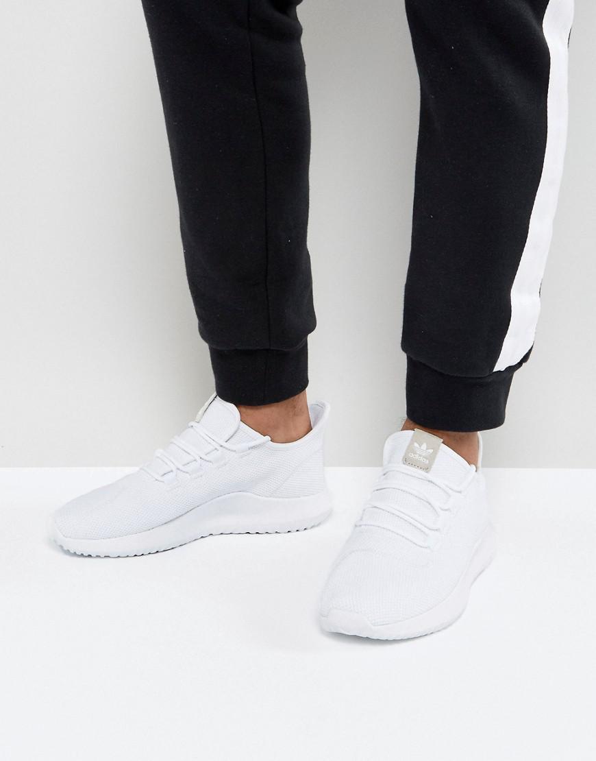 Tubular Shadow Trainers In White CG4563 - White adidas Originals T6DjzW5z