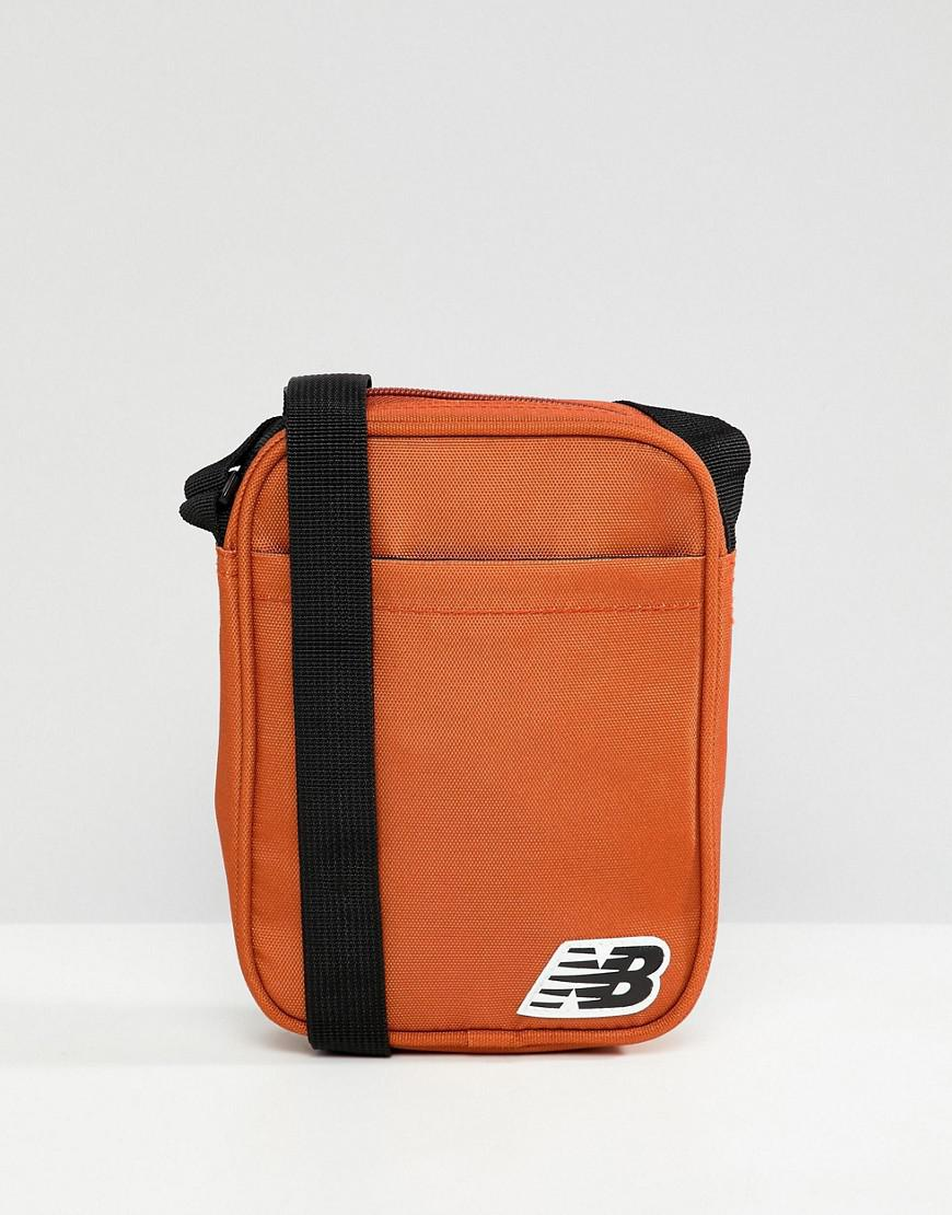 34aed4908c New Balance Crossbody Bag In Orange 500211-807 in Orange for Men - Lyst