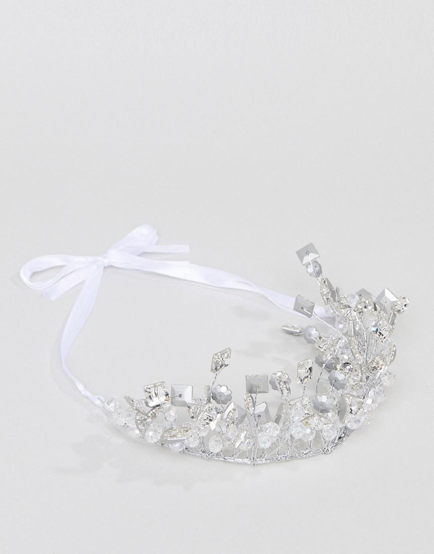 Silver Pearl Embellished Hair Grips - Silver True Decadence W7yImA5sp