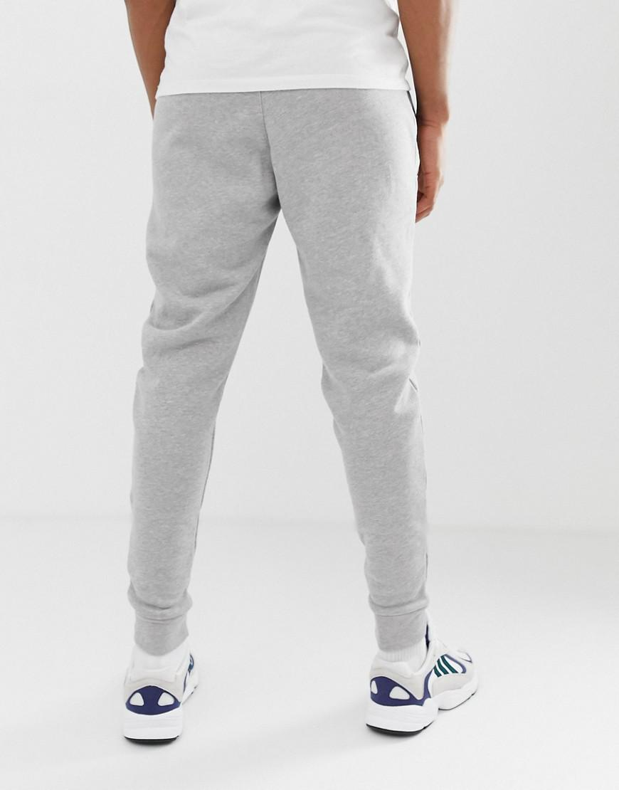 5928cc3e77a adidas Originals Joggers With Logo Embroidery Grey in Gray for Men - Lyst
