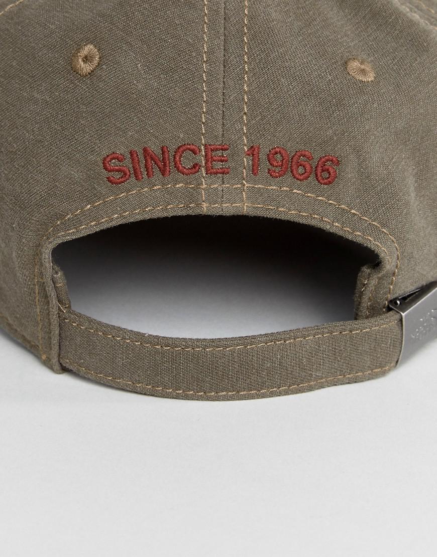 4e923d68 The North Face 66 Classic Logo Cap In Falcon Brown in Brown for Men ...