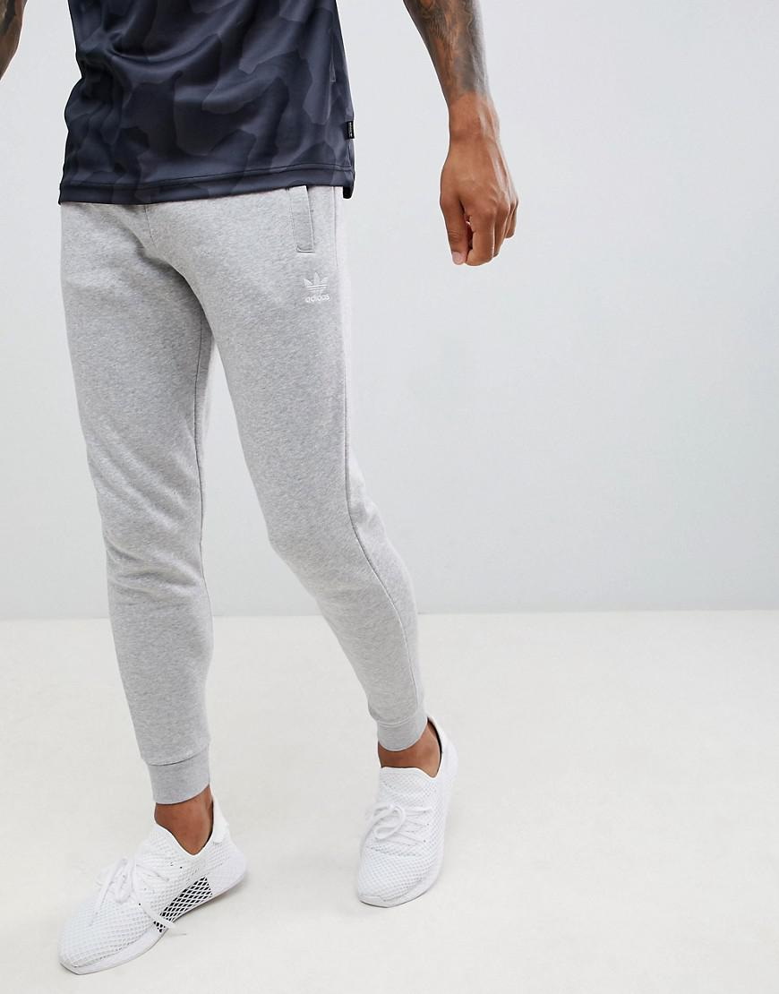 6fcf1593ebe Lyst - adidas Originals Jersey Sweatpants In Gray Dn6010 in Gray for Men