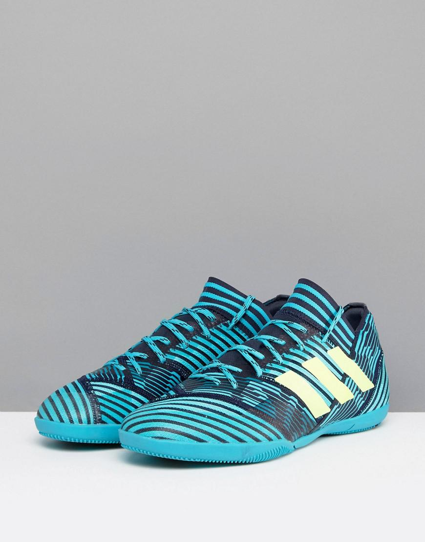 be8de8db42de Lyst - adidas Football Nemeziz Tango 17.3 Indoor Trainers In Navy ...
