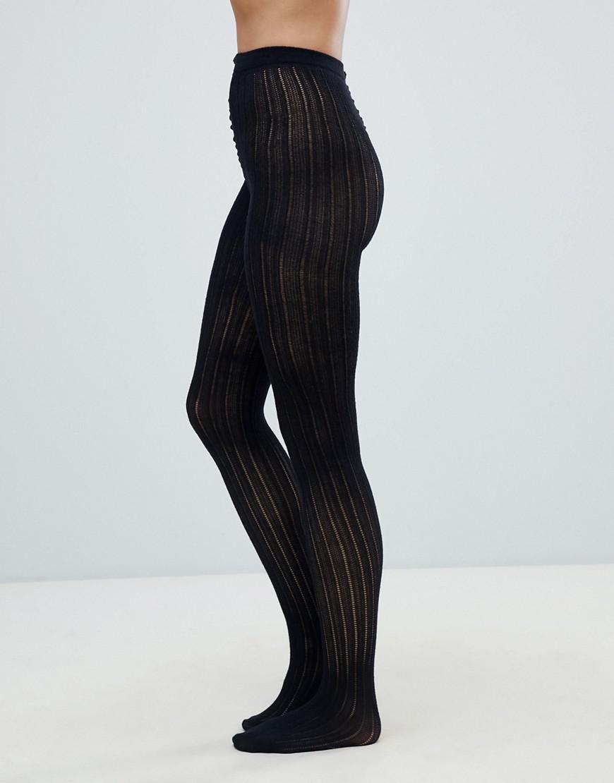 9bdbe63422288 Lyst - Jonathan Aston Linear Tight in Black