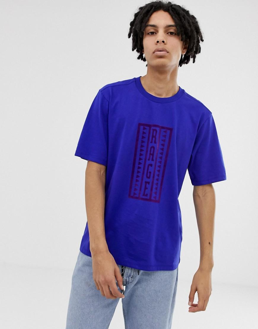 f7fd4132 Lyst - The North Face 92 Retro Ragedd T-shirt In Blue in Blue for Men