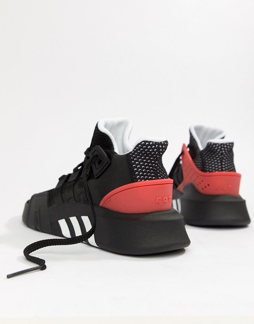 924e87ffff1 adidas Originals Eqt Bask Adv Trainers In Black Aq1013 in Black for Men -  Lyst